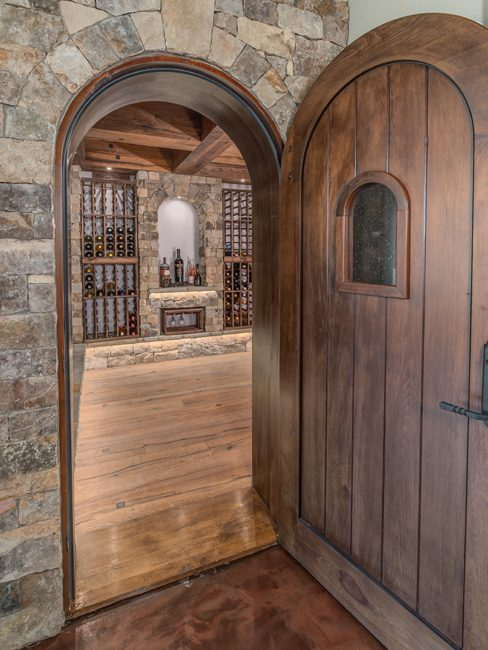 Asheville luxury homes wine cellars