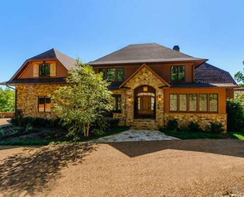 custom home builders asheville mountain home