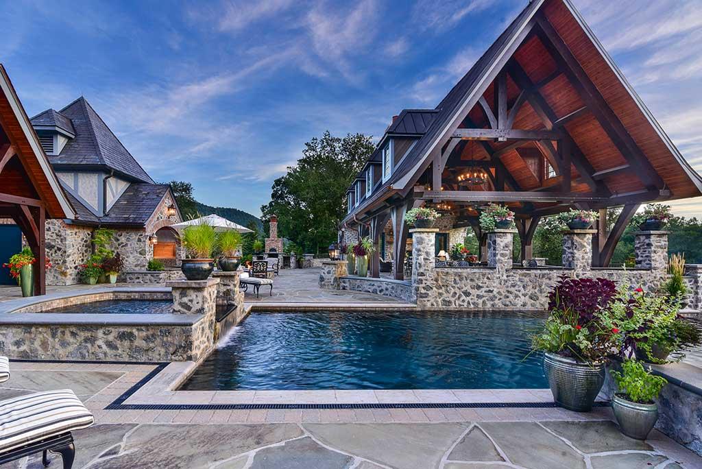 New Pavilion & Pool House