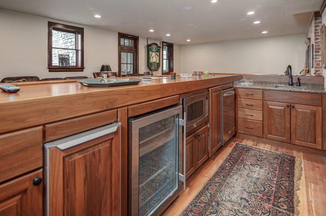 Asheville home remodeling contractors_basement remodels