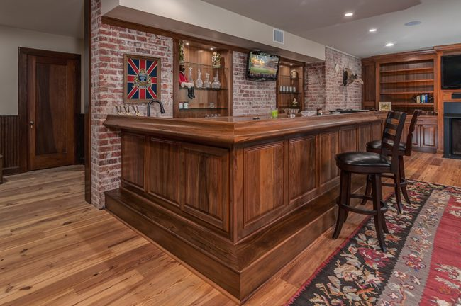 Biltmore Forest Custom Bar