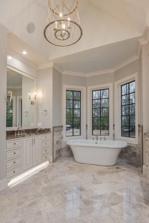 asheville builders_master bathroom remodel