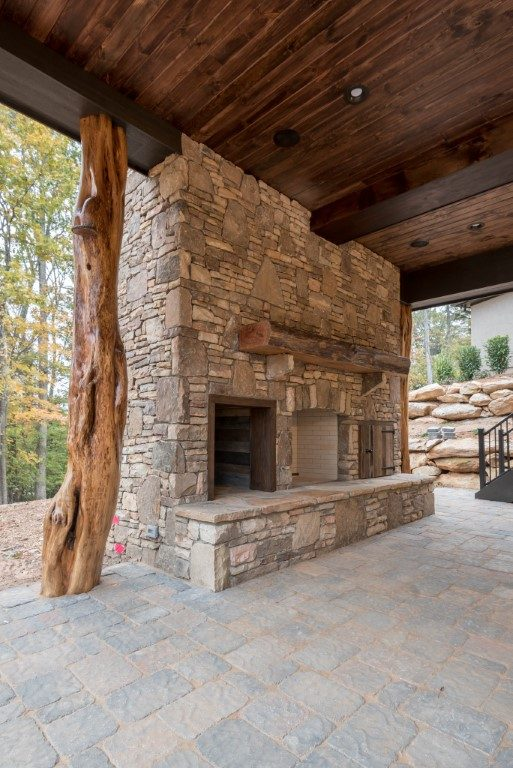 builders in asheville_fireplace outdoor