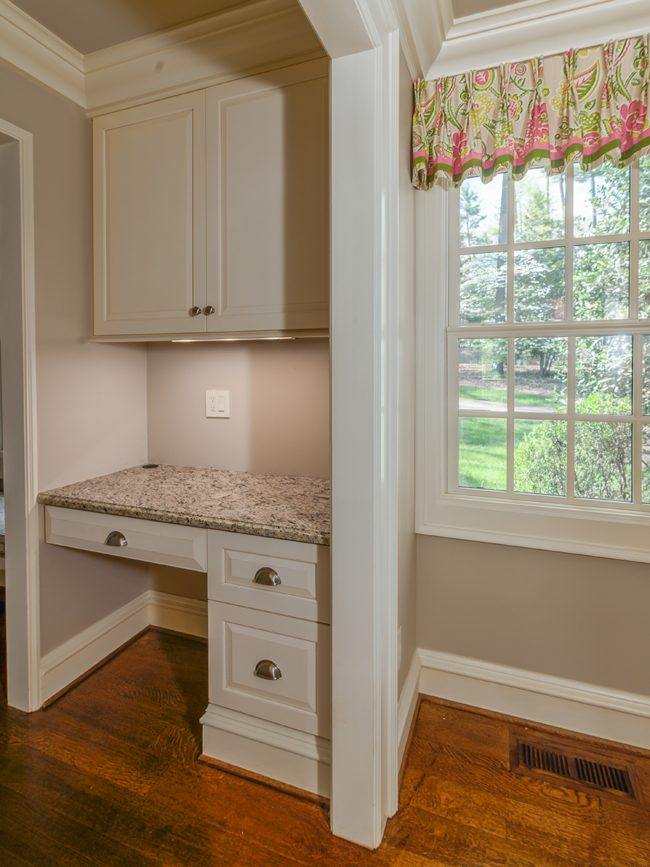 desk in mudroom with window_builders in asheville nc