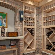 NC Custom Home Builders Wine Cellar_nc custom homes