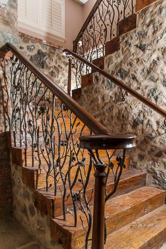 NC Custom Home Builders Stairway