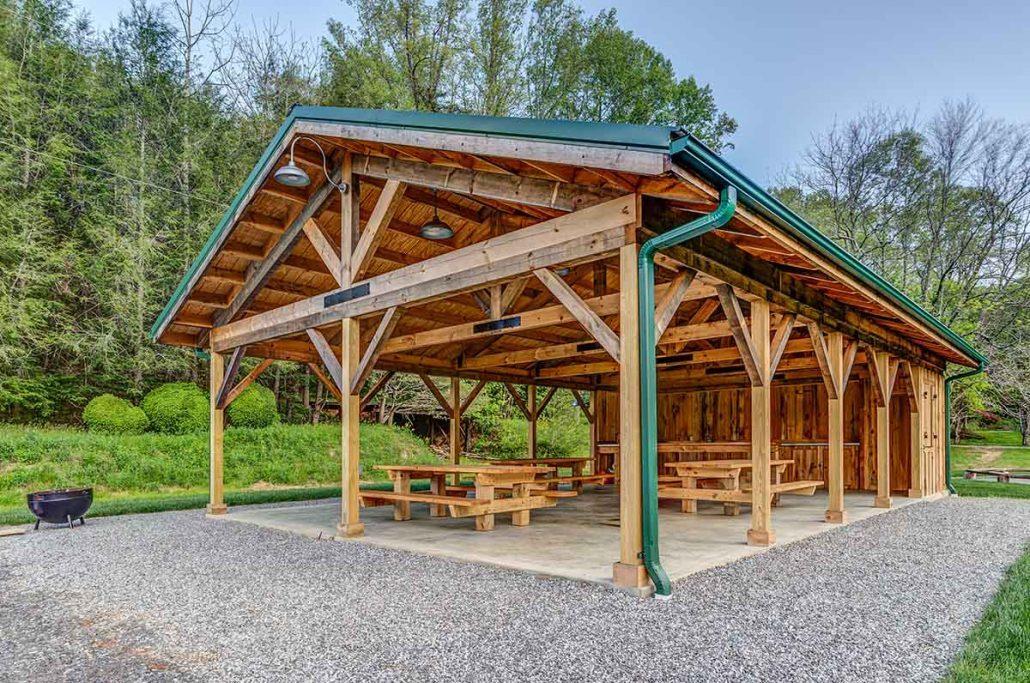 Powder Springs_Asheville NC area builders pavilion