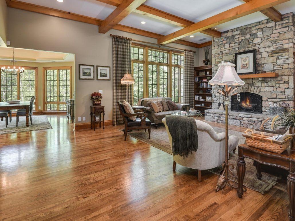 AShevillehomebuilders_living room remodel