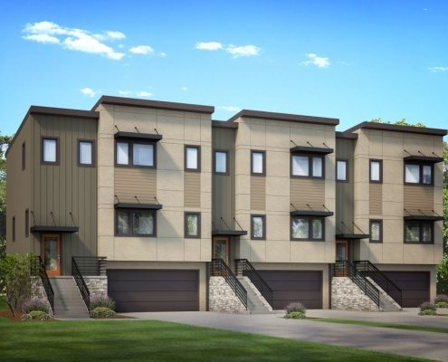 Asheville NC Area Builders_new town homes asheville