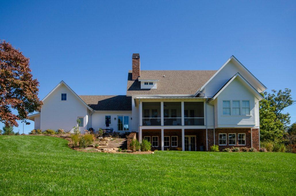 custom home builders asheville nc farmhouses