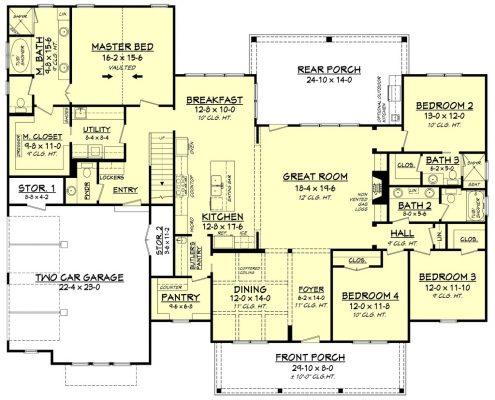 farmhouse home plans_asheville custom builders