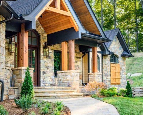 hendersonville modern home builder asheville, nc
