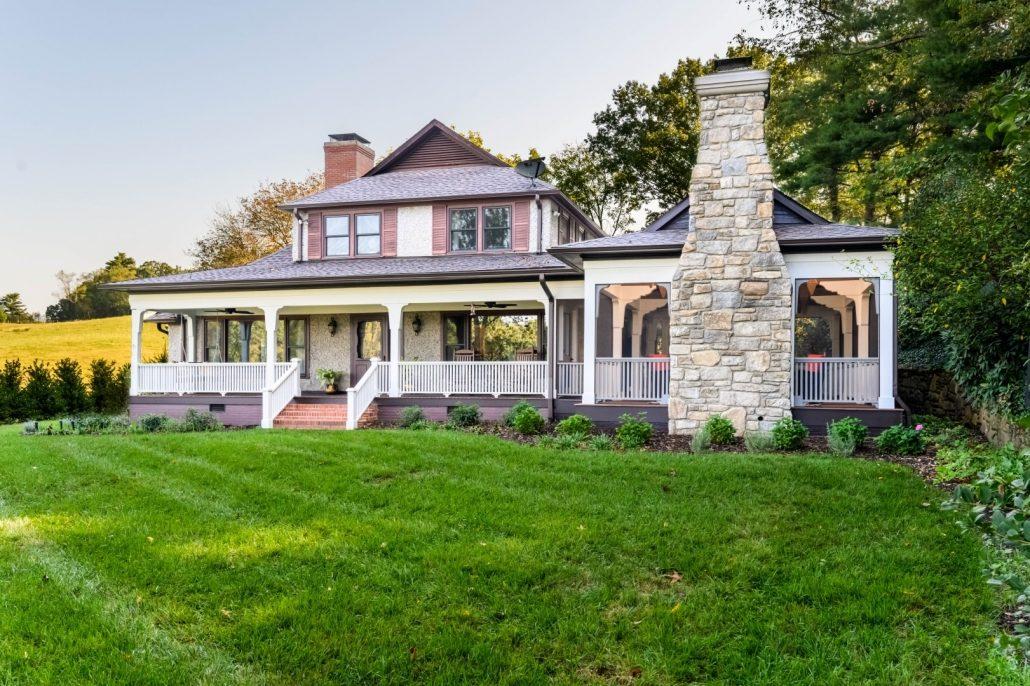 modern home builder asheville, nc_outdoor living