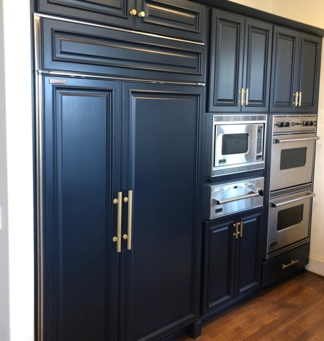 blue cabinets_home building trends_custom homes