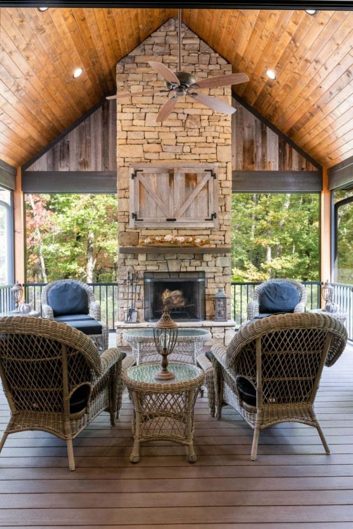 luxury home builders asheville nc