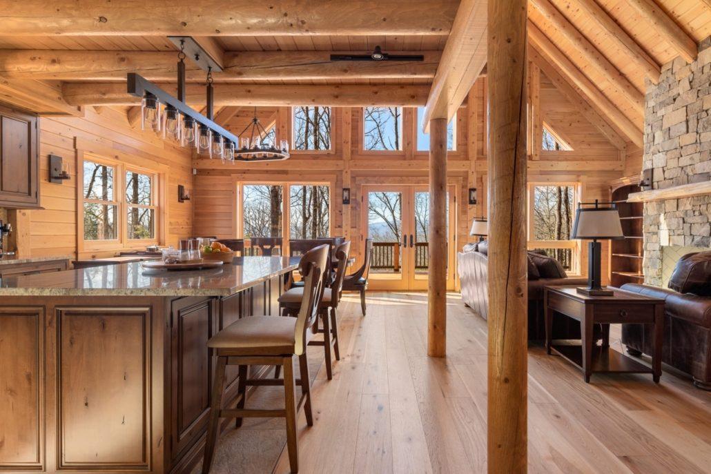 brevard custom home builders_luxury log homes